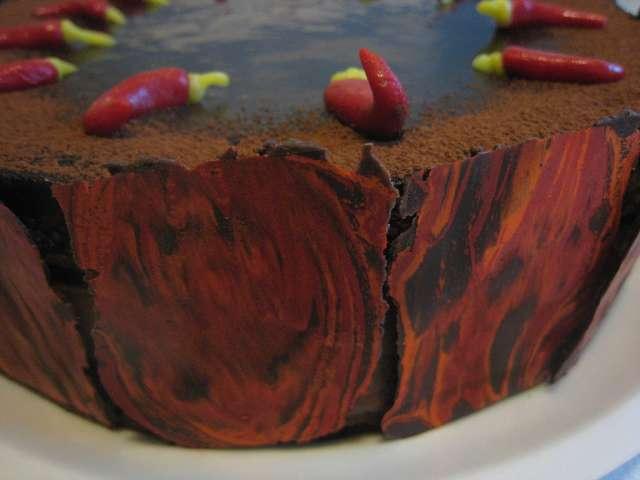 chilli dort zblizka Klasické dorty