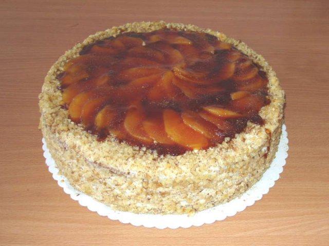 hruskovy dort Klasické dorty