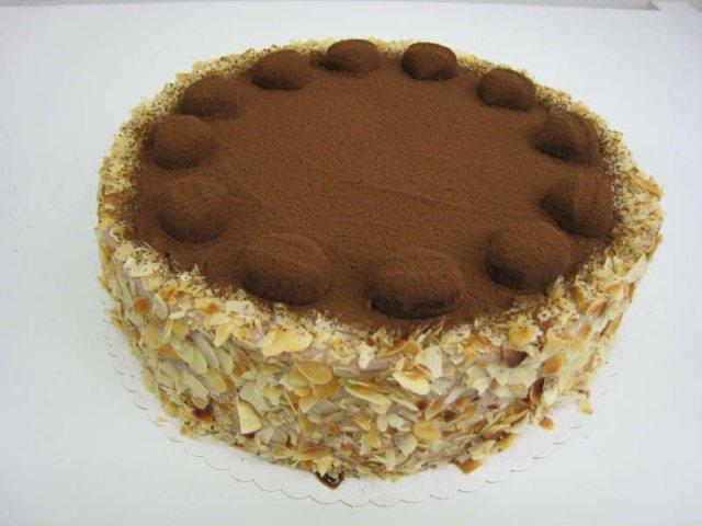lanyzovy dort s mandlemi Klasické dorty