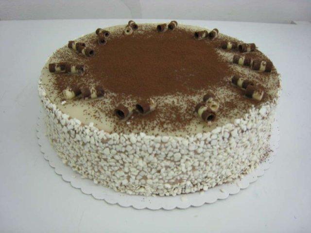 marcipanovy dort s bananem Klasické dorty