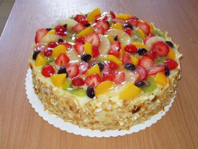 ovocny dort Klasické dorty