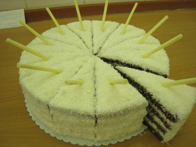 raffaello dort kokosovy Klasické dorty