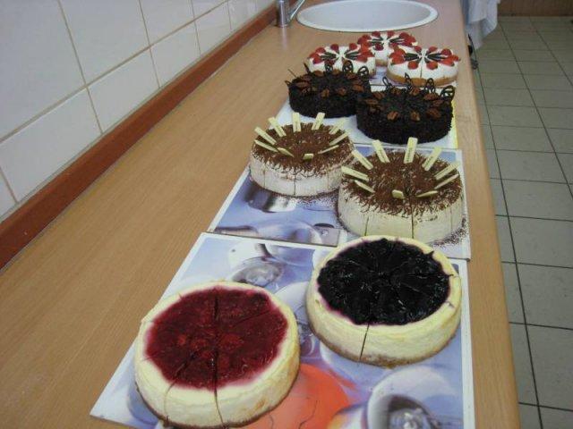 mini cheese cake Minidezerty