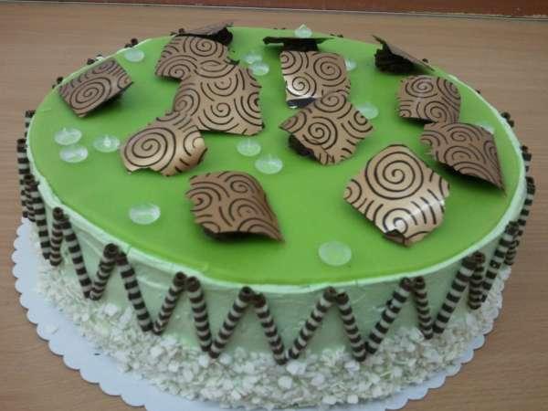 dort s cokoladovymi lupinky a diamanty Na přání