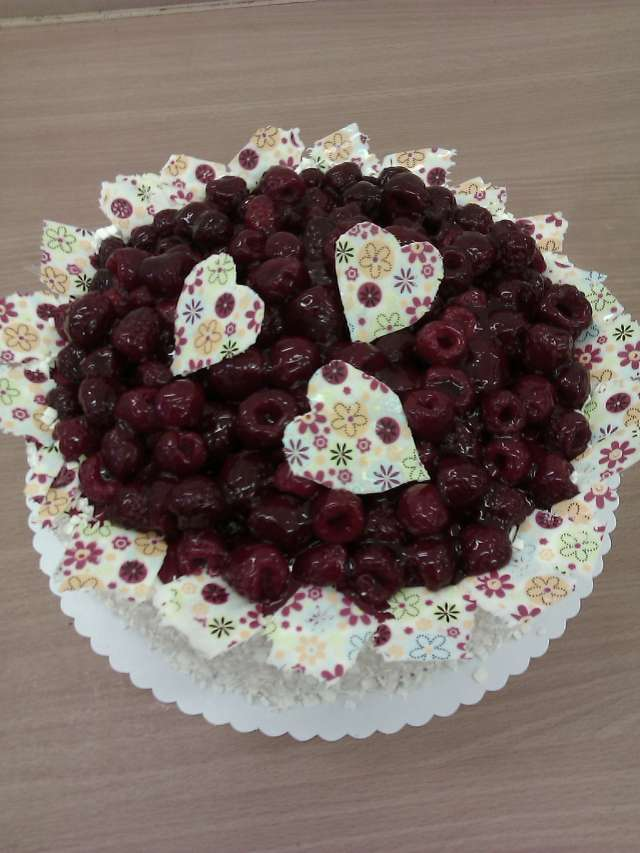 zamilovany dort Na přání