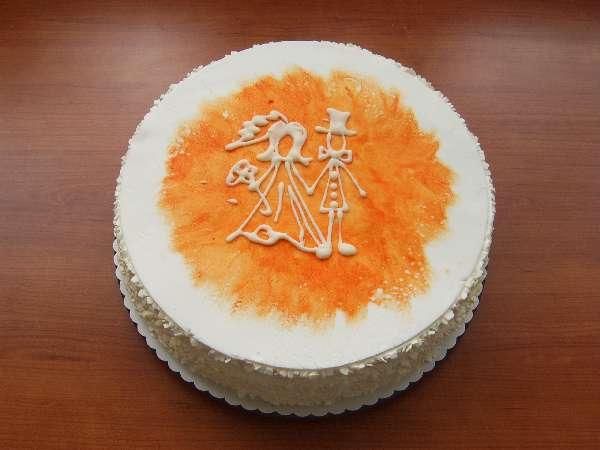 svatebni dort 20 obrazek z oznameni Svatební dorty