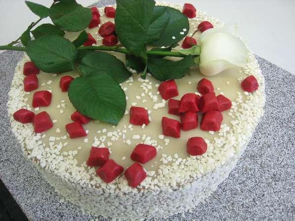 svatebni dort 21 rubinova svatba Svatební dorty