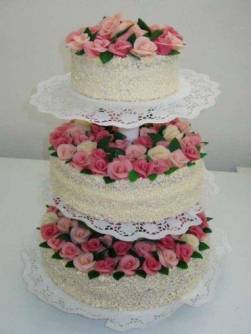 svatebni dort 4 Svatební dorty