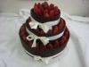 thumbs dort s cokoladovymi tycinkami Svatební dorty